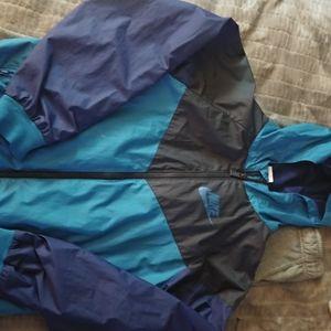 Nike Windbreaker hoodie boys Medium